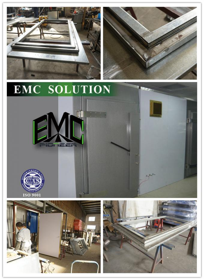 Industrial Electric / Manual RF Shielding Doors For Anechoic Chamber/Shielding room 0